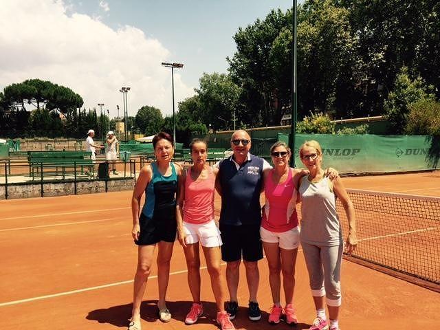 Tennis, a Tortoreto la finale del Campionato Lady 55 a squadre