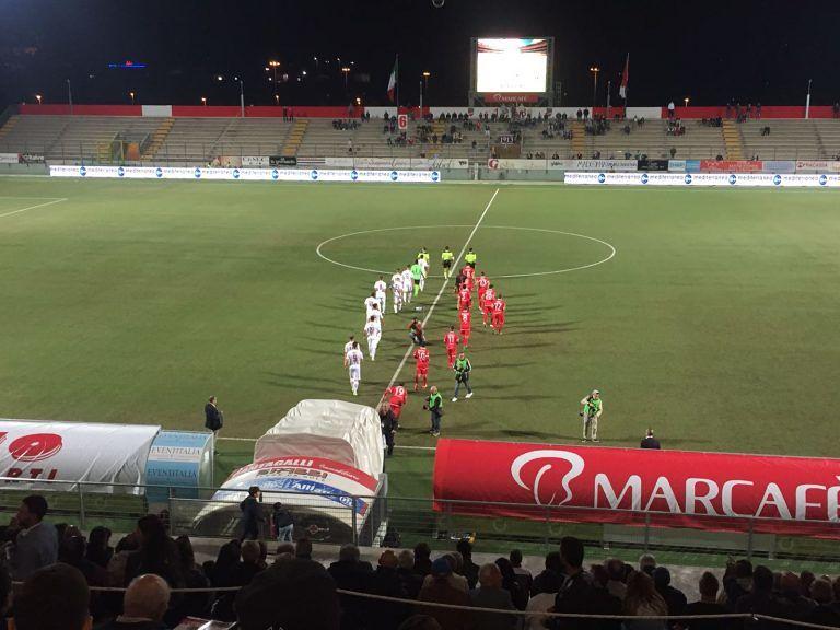 Lega Pro, prima vittoria per il Teramo: 2-0 contro il Fano