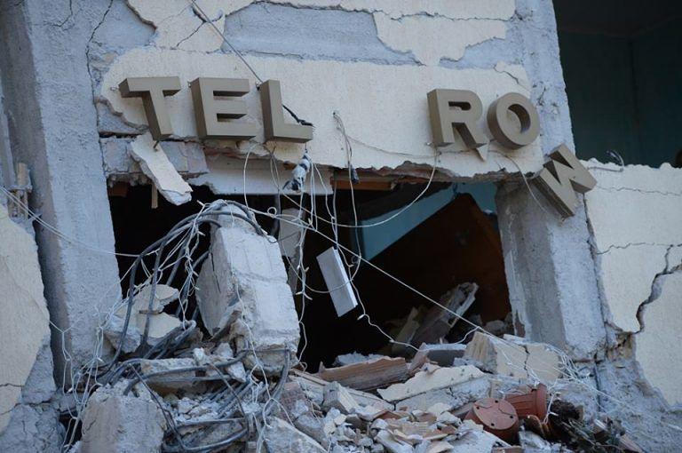 Terremoto, comandante provinciale Carabinieri visita feriti all'ospedale dell'Aquila