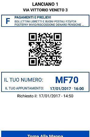 Poste Italiane, a Lanciano e Francavilla il turno allo sportello si prenota tramite app