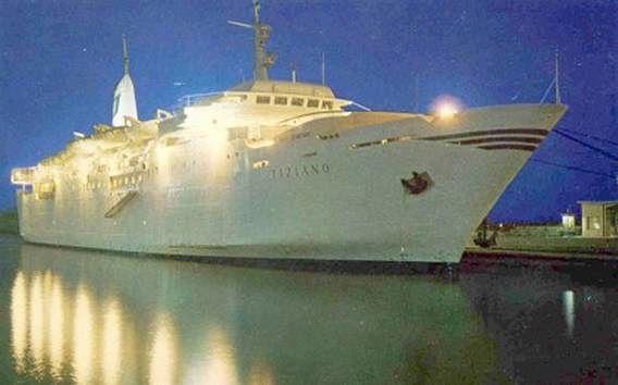 Pescara, finisce all'asta la rampa della nave Tiziano