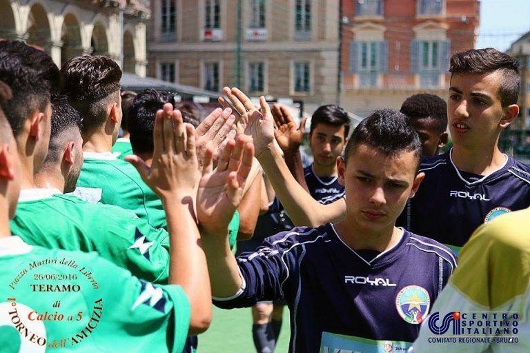 Calcio a 5, a Teramo il primo Torneo dell'Amicizia del CSI – FOTO