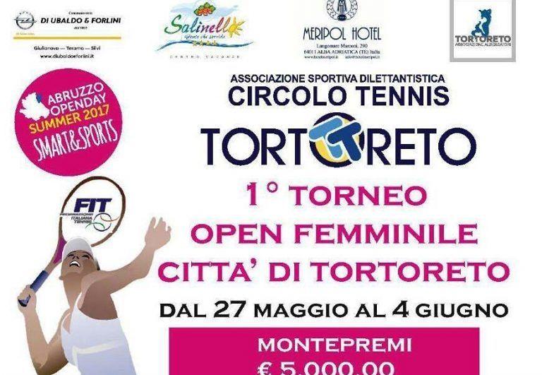 Tennis, a Tortoreto entra nel vivo l'Open Femminile