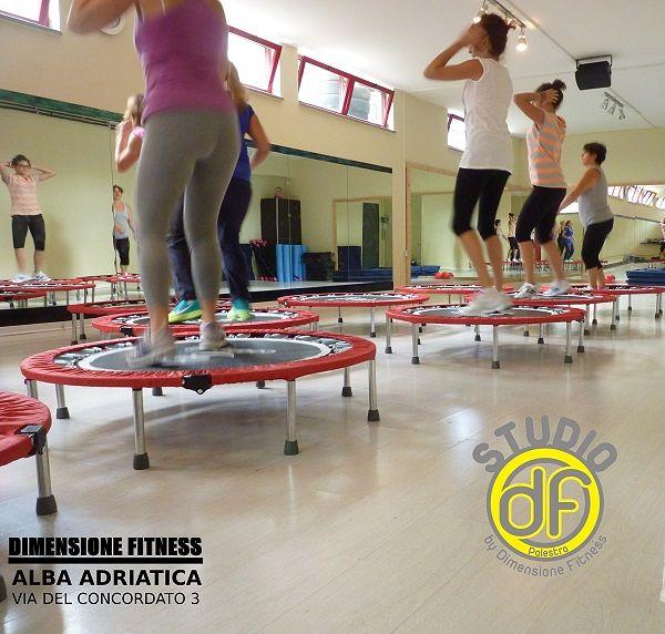 Da Dimensione Fitness si salta…col trampolino! | Alba Adriatica