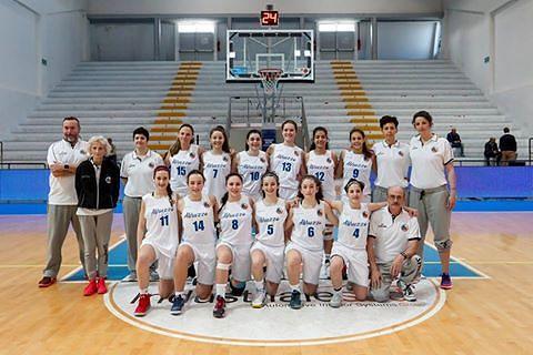 Basket, Trofeo delle Regioni 2017: primi sorrisi per le ragazze abruzzesi