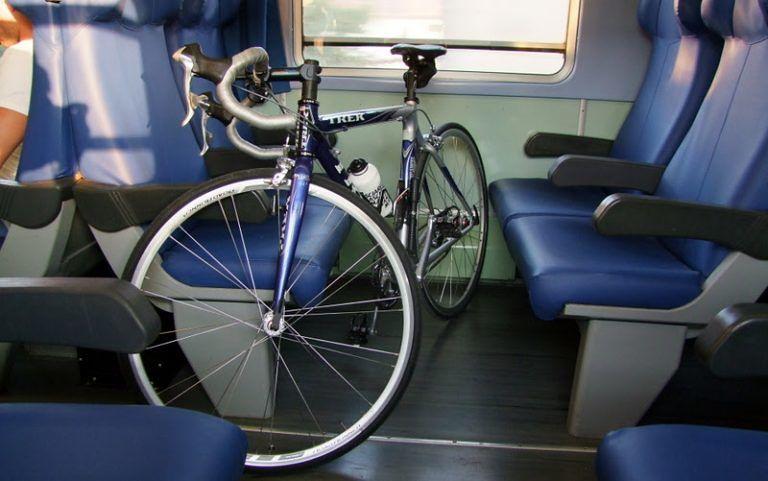 """Pescara, in treno con la bici, Fiab """"Posti permettendo"""""""