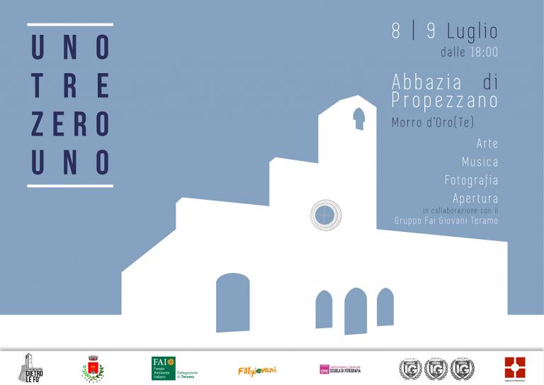 Unotrezerouno, l'evento che 'riapre' l'abbazia di Propezzano