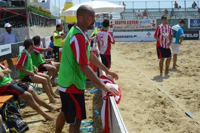 Vastese Beach Soccer, Andrea Sabalino prima della seconda tappa del campionato Lnd Aon