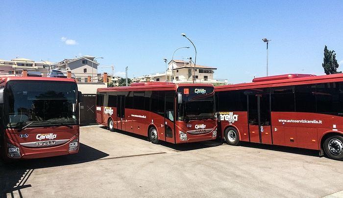 Autolinee Cerella, in arrivo cinque autobus con wi-fi per il Vastese