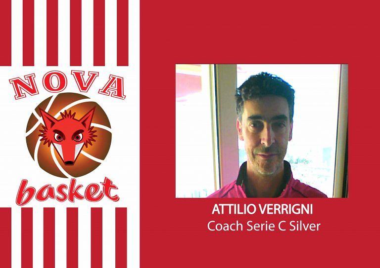 """Basket, serie C: Attilio Verrigni """"si accomoda"""" sulla panchina della Nova Campli"""