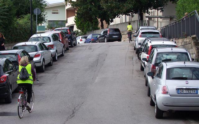 Pescara, il censimento di 'Bike to work': poche strade a misura di ciclista