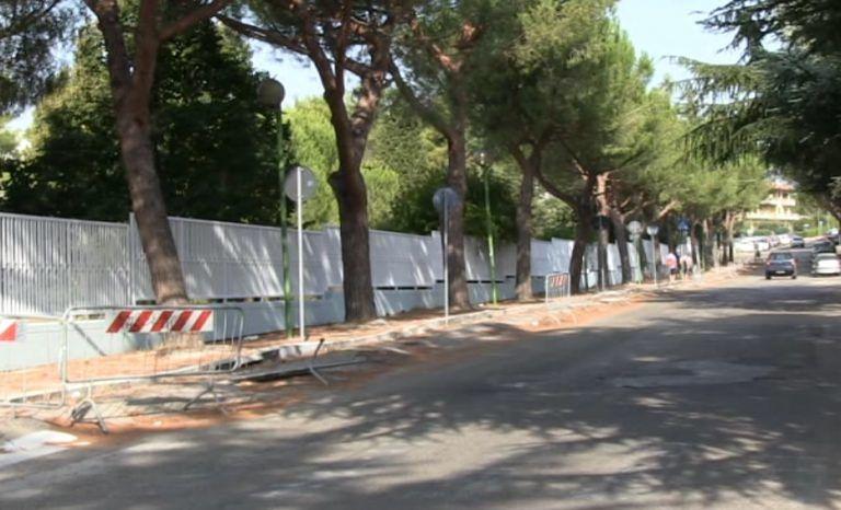 Giulianova, via Ruetta Scarafoni sempre più dissestata. Colpa dei pini