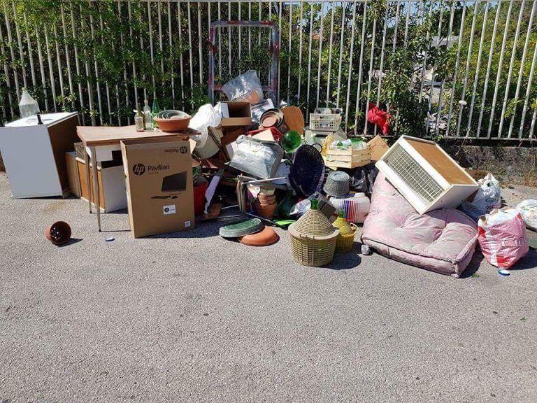 Pescara, discariche abusive in via Feltrino: chieste le fototrappole – FOTO