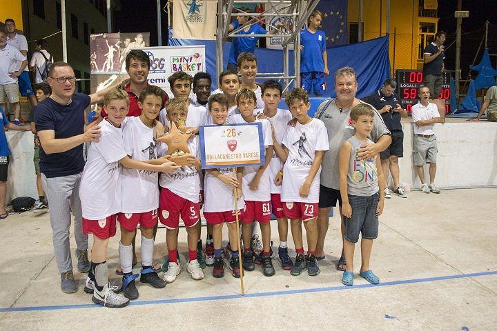 Basket, 26°Trofeo Ministars: un'edizione da ricordare per Varese – FOTO