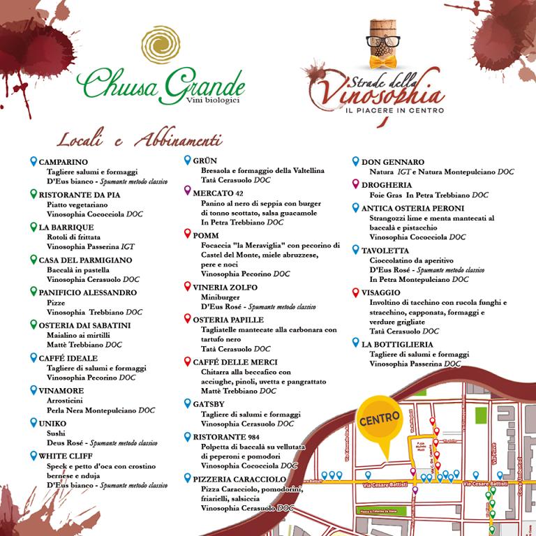 Pescara, buon vino e musica: il percorso enogastronomico a Piazza Muzii