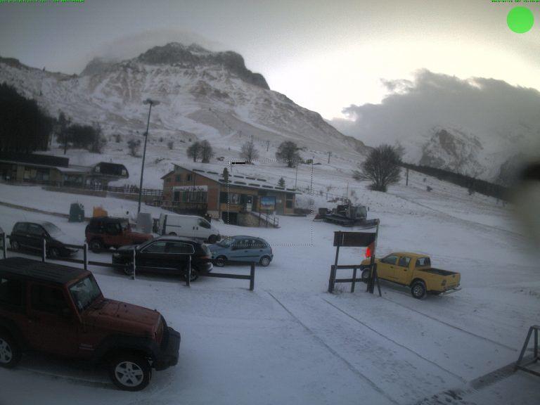 Abruzzo, pertrurbazione breve ma è arrivata la neve in montagna