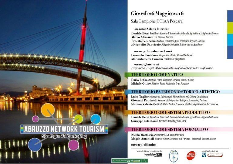 Pescara, sviluppo turistico del territorio: il progetto dell'Aterno Manthonè