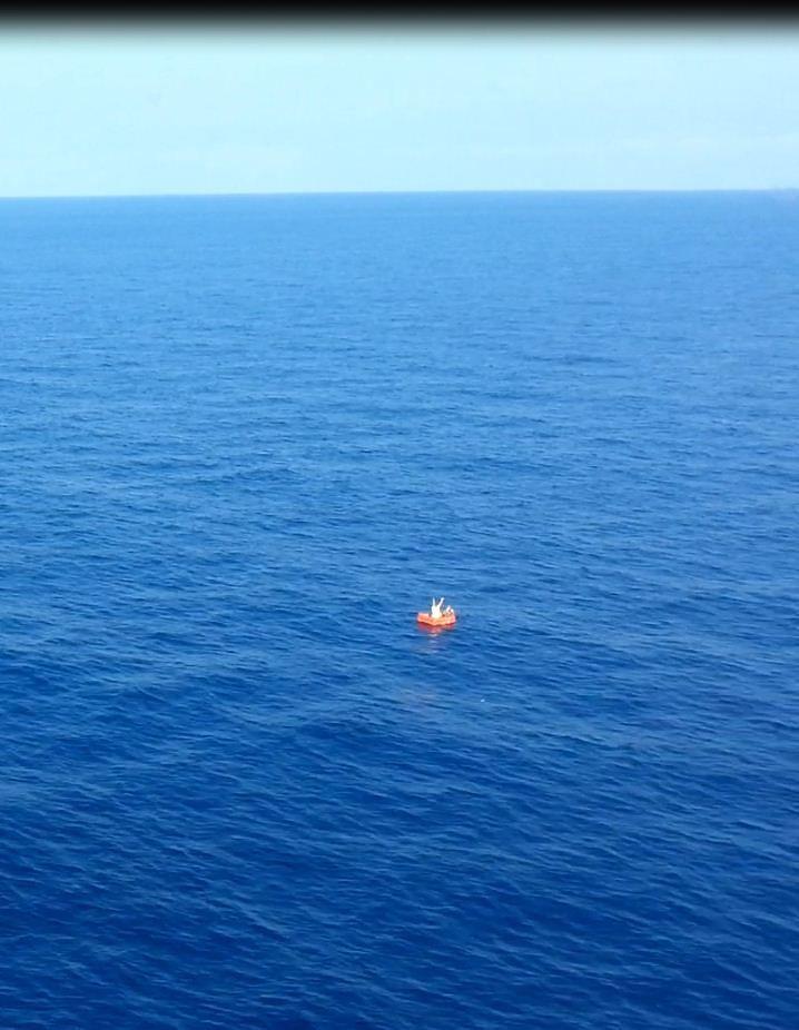 Pescatori dispersi in mare a Ponza: salvati dalla Guardia Costiera di Pescara