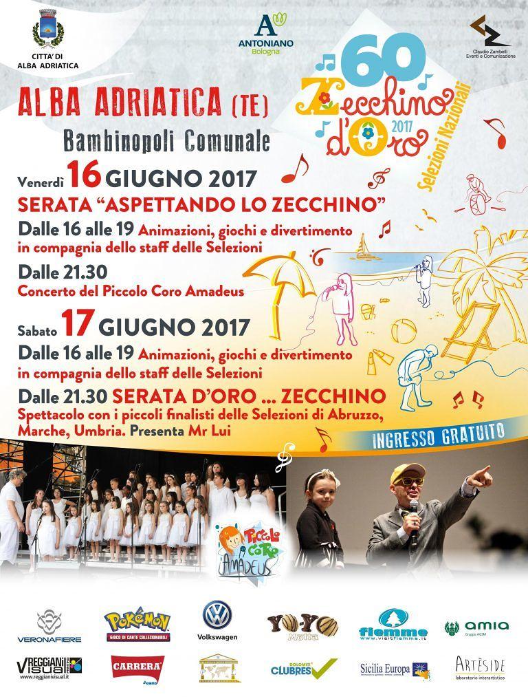Alba Adriatica, due giorni dedicati alle selezioni dello Zecchino d'Oro