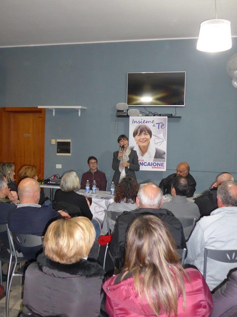 Elezioni Roseto, Rosaria Ciancaione incontra Voltarrosto