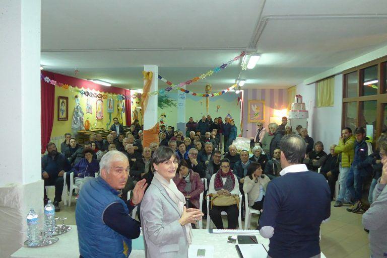 Elezioni Roseto, Rosaria Ciancaione 'incontra' Cologna Paese