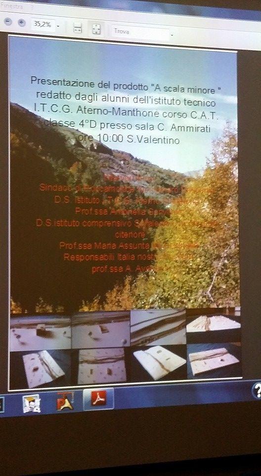 Pescara, strutture panoramiche progettate dagli alunni dell'Aterno Manthonè