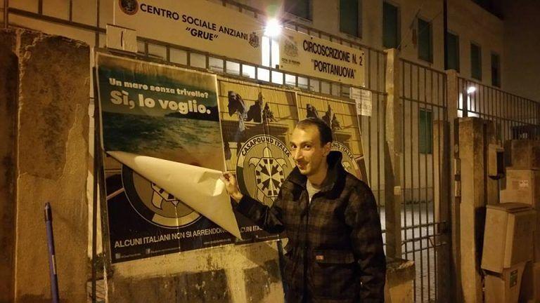 Pescara, manifesti abusivi: presentato esposto contro Casapound