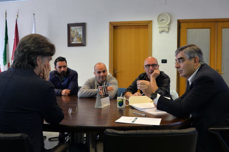 Pescara, D'Alfonso incontra gli ex interinali di Attiva