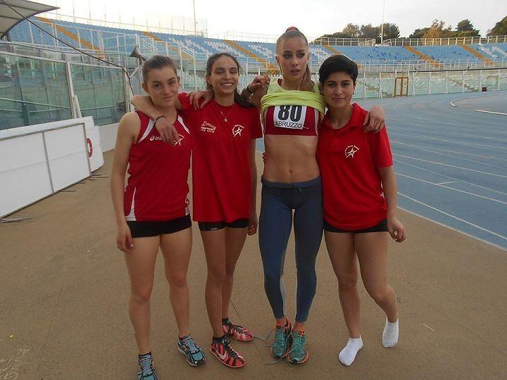 Atletica, due vittorie teramane al Festival delle Staffette di Pescara