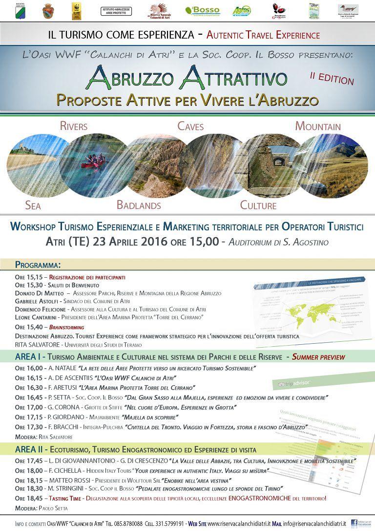Atri, Workshop 'Abruzzo Attrattivo'