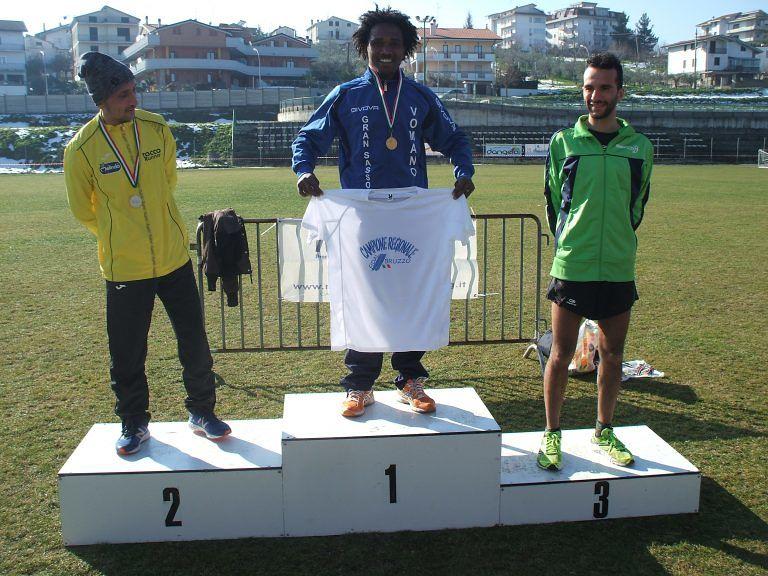 Atletica, Binyamin Adugna conquista il titolo regionale assoluto di cross