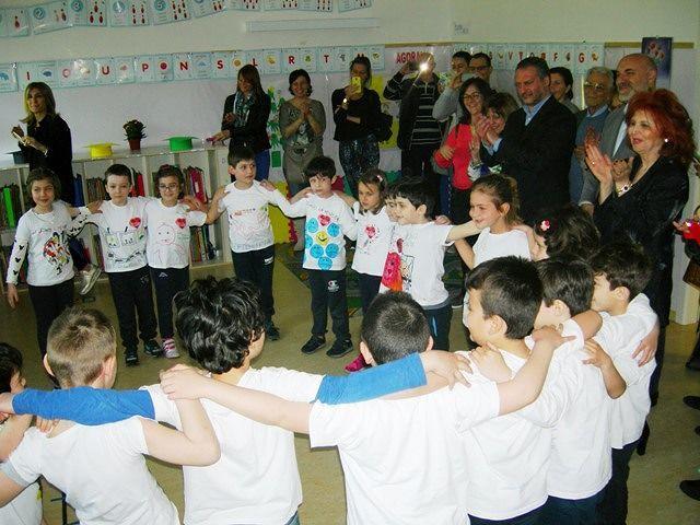 Chieti, sindaco e vicesindaco in classe con gli alunni della Scuola Cesarii