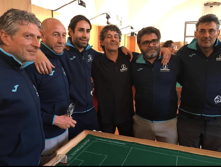 Serie D Subbuteo, Area Sport L'Aquila manca di un soffio la promozione