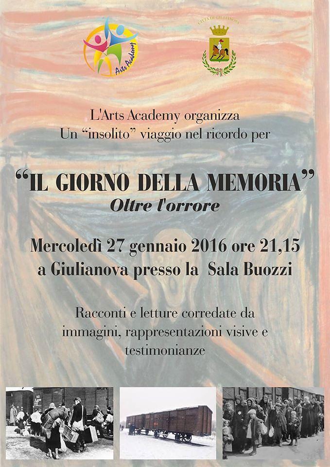 Giulianova, il giorno della memoria con Arts Academy