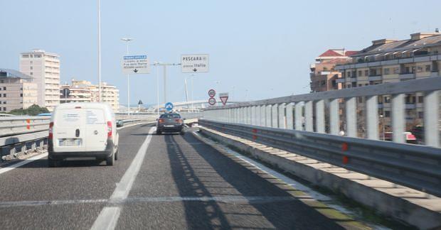 Anas, modificato limite di velocità sull'asse attrezzato Chieti-Pescara