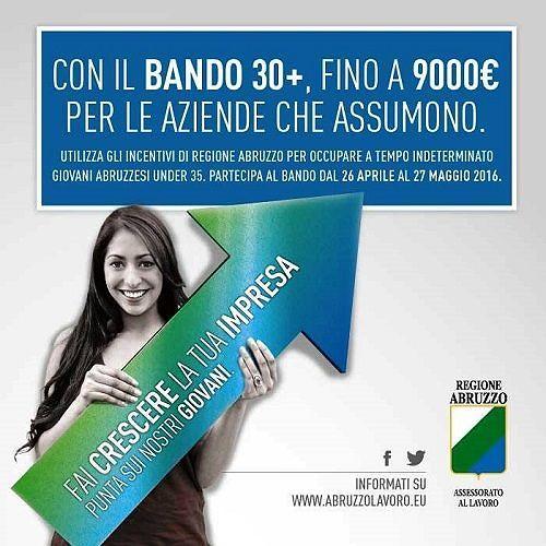 Lavoro Abruzzo, bando 30+: record di domande da aziende, Pec intasata