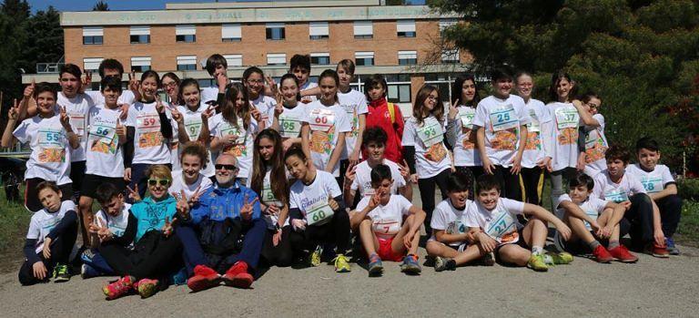 Teramo, oltre cento studenti alla Corsa nel Parco di Piano d'Accio