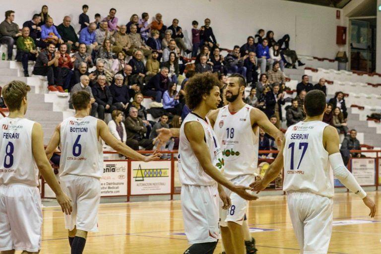 Basket, Campli-Taranto 81-68: gara chiusa a metà tempo