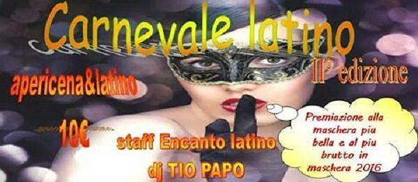 2°Carnevale Latino al Ristorante Miramare – Domenica 7 febbraio| Mosciano Sant'Angelo