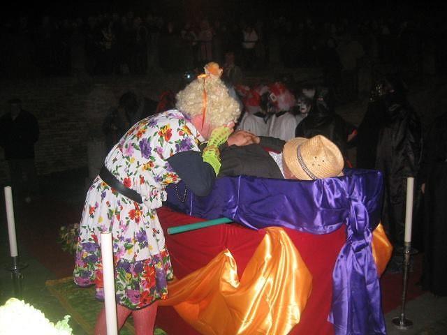 Montorio, Alvaro Vitali ospite del Carnevale Morto