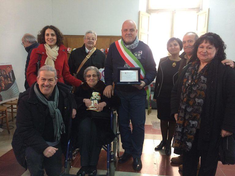 Teramo, i 100 anni di nonna Italia