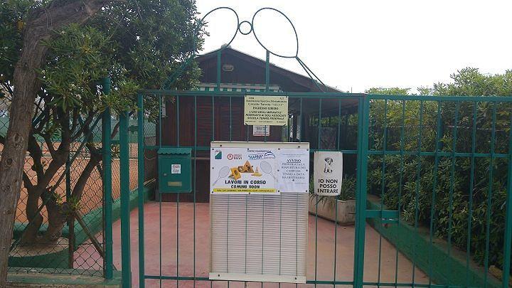 Silvi, a rischio la riapertura dei campi da tennis