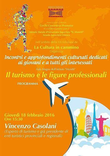 Roseto, nuovo appuntamento con 'La cultura in cammino' su turismo e figure professionali