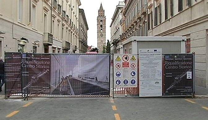 """Teramo, agli sgoccioli i lavori su Corso San Giorgio. Ciammariconi (M5S): """"Bene, ma…"""""""