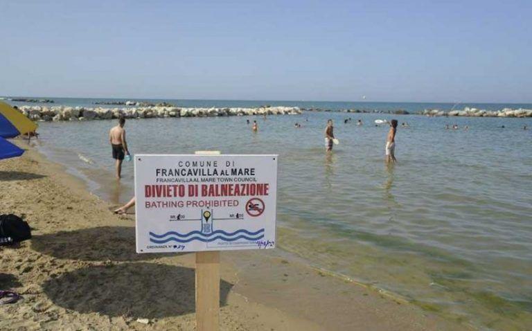 Pescara, le zone antistanti via Balilla e Galilei tornano interamente balneabili