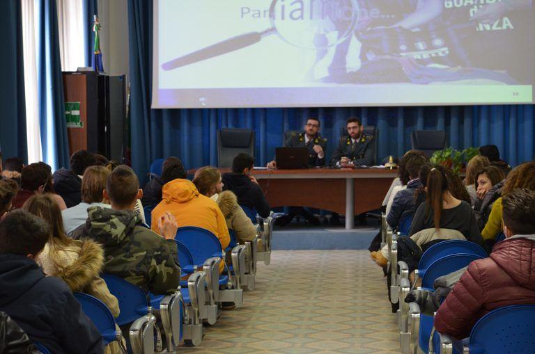 Pescara, a scuola con la legalità