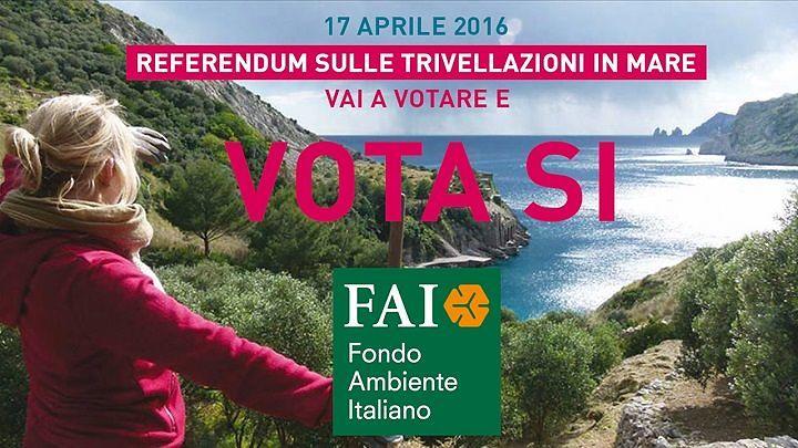 Referendum trivelle, Fai Abruzzo si schiera a favore del SI'