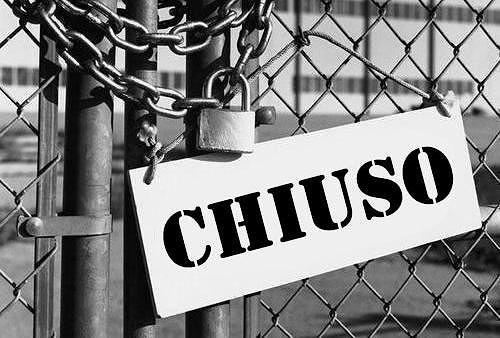 Abruzzo ancora in crisi: 328 aziende fallite nel 2015. Maglia nera per la Provincia di Teramo