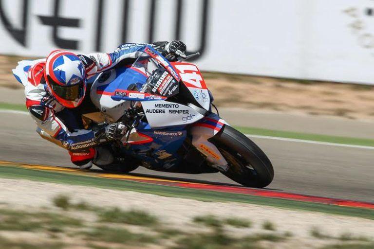 Pescara, record di Federico D'Annunzio al circuito Assen