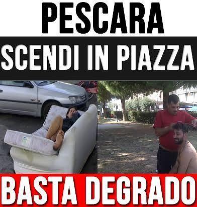 Degrado e spaccio: Forza Nuova presidia la movida di Pescara Vecchia